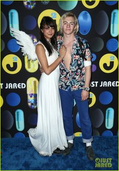 Ross Lynch & Courtney Eaton Make Couple Debut at Just Jared's Halloween Party!