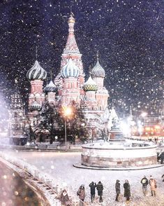 St. Basil's Cathedral, Moscow | Instagram photo by @rus_tatiana