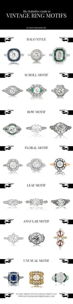 How Are Vintage Diamond Engagement Rings Not The Same As Modern Rings? If you're deciding from a vintage or modern diamond engagement ring, there's a great deal to consider. Wedding Rings Vintage, Vintage Engagement Rings, Vintage Rings, Wedding Bands, Vintage Jewelry, Wedding Dress, Custom Jewelry, Fur Vintage, Motif Vintage