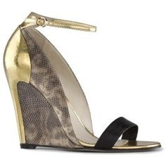 cute - Sergio Rossi Snakeskin Cleta Wedge#Repin By:Pinterest++ for iPad#