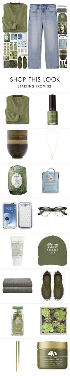 """""""5351"""" by tiffanyelinor ❤ liked on Polyvore featuring Revlon, Katie Diamond, Fresh, Fjällräven, Green & Spring, Calvin Klein, T3, NIKE, Gold Eagle and Crate and Barrel"""