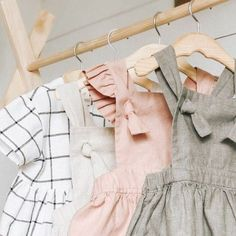 I'd like to introduce you to talented maker Elizabeth Ellsworth and her beautiful new small shop Tali & Co on Etsy. Elizabeth was inspired by her sweet daughter Taliah to start creating clothing for little ones: \ Baby Girl Fashion, Toddler Fashion, Kids Fashion, Fashion Clothes, Burberry Baby Girl, Ladies Dress Design, Kind Mode, Boho, Kids Wear