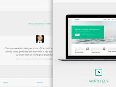 New design for HatBox website