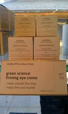 Aveda- Green Science Eye Cream