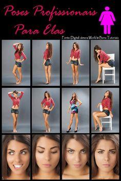 ideias de poses para fotos femininas mulheres
