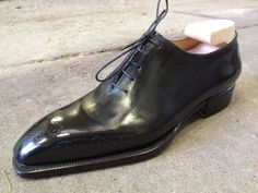 Bestetti's Wholecut oxfords in Ready To Wear handwelted