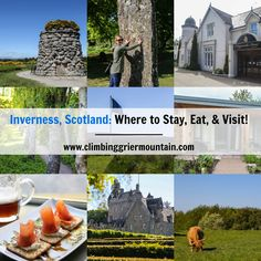 Inverness, Scotland: Where to Stay, Eat, & Visit! Tour the unofficial capital of the Highlands that played a significant role in Scottish history!