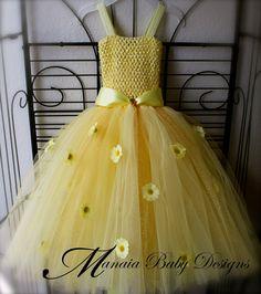 Yellow Tutu Dress