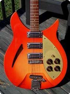 Rickenbacker / 345 Capri / 1959 / Autumnglo / Vintage Guitar
