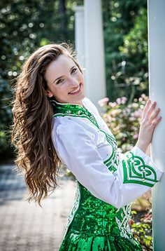 Fabulous natural Irish Dance hair