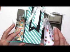 Geschenktüten mit dem Stanz- und Falzbrett für Geschenktüten von Stampin´ Up!  basteln