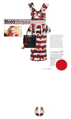 """""""Untitled #285"""" by arees ❤ liked on Polyvore featuring Johanna Ortiz, Christian Louboutin, Balenciaga and BoldStripes"""