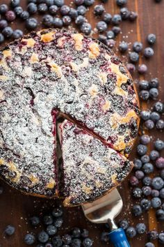 bolo de limão com bombas de mirtilos: quem é que vai resistir a esta maravilha? | casal mistério | Bloglovin'