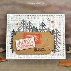 Kartenwind: Weihnachtskarte mit Geschenkgutschein oder Geldgeschenk | danipeuss.de Klartextstempel und Weihnachtskartenkit, MFTStamps Die-Namics My Favorite Things, Echo Park, Simple Stories