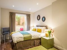 Executive One Bedroom Notthing HillHoliday Rental in Westbourne Grove from