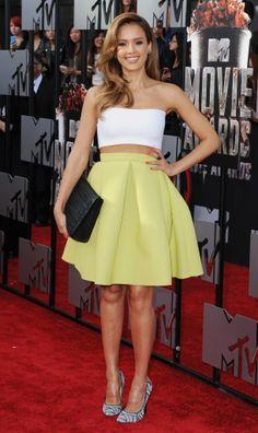 Jessica Alba at the 2014 MTV Movie Awards