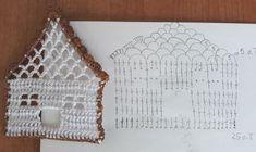 Ela Klementowicz's media content and analytics Crochet Chart, Thread Crochet, Crochet Motif, Crochet Doilies, Crochet Flowers, Crochet Christmas Ornaments, Crochet Snowflakes, Ball Ornaments, Japanese Crochet Patterns
