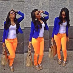 Perfect outfit w/ Gator colors!