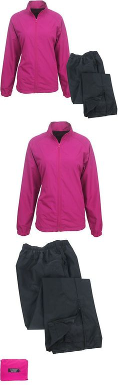 b6f9bc69a0c Coats and Jackets 181145  Forrester Women S Packable Breathable Waterproof  Golf Rain Suit