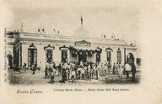 Estación Marta Abreu, 1900.Santa Clara. El siglo XIX alcanzó a la colonia cubana en un período de cierta bonanza económica, la producción azucarera se había levantado vertiginosamente, y en 1830 el 40 % del azúcar mundial salía de Cuba.