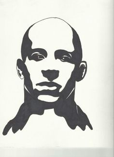 vin DieSel awesome stencil !!!! n im proud of me that ive made it