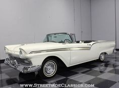 AutoTrader Classics - 1957 Ford Fairlane Convertible White 8 Cylinder Automatic Other   Muscle & Pony Cars   Lithia Springs, GA
