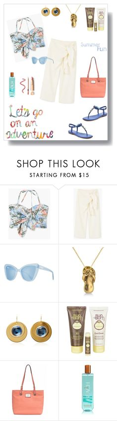 """""""Summer Fun"""" by rboowybe ❤ liked on Polyvore featuring MANGO, Prism, Allurez, Sun Bum, Nicole By Nicole Miller and contestentry"""