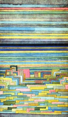PAUL KLEE, LAGOON CITY, 1932 Archive of Affinities : Photo