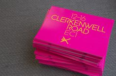 Fluorescent ink is a simple and very effective way to ensure your brochure gets noticed. #standout #marketing #print