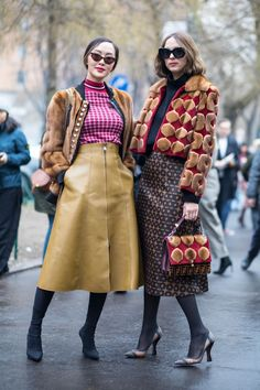 Many with a turtleneck or T-shirt layered underneath.