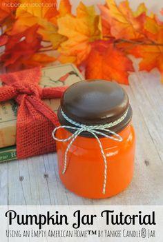 Pumpkin Jar Tutorial