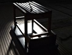 Punishment Table, Dachau Concentration Camp Germany