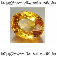 yellow sapphire gemstones, peela pukhraj http://www.dharmikshakti.in/yellowsapphiregemstone