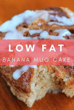 I'm all about quick and easy, especially in the morning, because I'm always on the go! This microwave mug cake is under 100 calories, making it the perfect breakfast to whip up in a hurry. Top it with the streusel icing and you've got a decedent treat that will fool your taste buds into thinking it's cheat day. Get excited, people! This means you CAN have your cake, and eat it too!