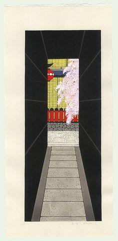 Teruhide Kato - Gion alley springtime