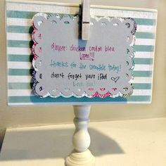 Today I have prepared for you something that might help you for this years Back to School season. I don't have kids yet, but I created this to share notes with my husband when our lives are busy crazy and we hardly see each other! My friend made one of these for each of her...Read More »
