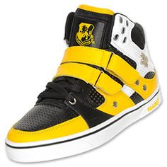 The Vlado Knight Kids' Athletic Shoes have a unique hi-top style that is bound to get you noticed. The shoes feature a synthetic upper with perforated panels to help keep your feet comfortable. Multiple hook-and-loop strap closures add unique style and a custom fit. A rubber sole completes the shoes with increased traction and durability.