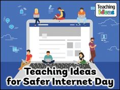 Encourage your children to stay safe online with these teaching and activity materials. They're perfect for Safer Internet Day but can be used all year round. Safe Internet, Internet Safety, Technology Lessons, Teaching Technology, Staying Safe Online, Cyber Safety, Art Wall Kids, Science Projects, Computer Science