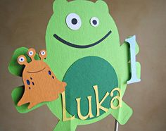 Little Monster Party - Smash Cake Topper