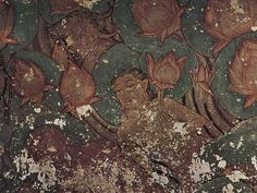 Explore Ancient Paintings At Sittanavasal Cave In Tamil Nadu-The Beauty Of Sittanavasal Cave Art Quotes, Paintings, Explore, Paint, Painting Art, Painting, Painted Canvas, Drawings, Grimm