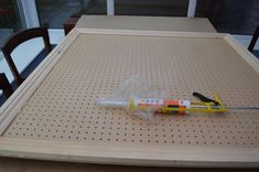 Making a pegboard