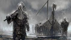 A couple of viking inspired speedpaintings. One of these is less historically accurate than the other...