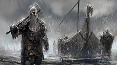 ArtStation - Viking Speedpaints, Conor Burke