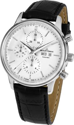 b23d586c2bb0 One of the last independent watchmakers in Europe Jacques Lemans Watches  are based in Austria. They are famous for creating fantastic value for  money ...