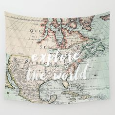 explore the world tapestry and home decor by Sylvia Cook Photography World Tapestry, Wall Tapestries, Wall Hangings, Teen Girl Decor, Travel Bedroom, Vintage Walls, Decor Styles, Vivid Colors, Dolphins