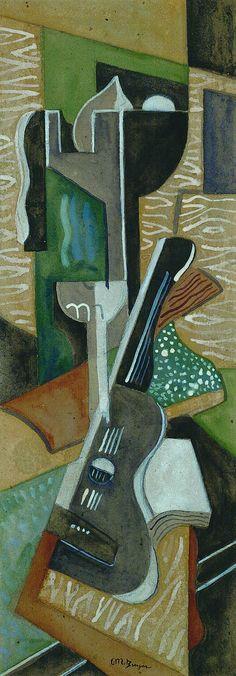 Composition á la guitarre (1930) Jean Metzinger
