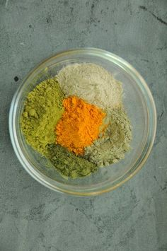 French green clay, Matcha green tea, Turmeric and Nettle leaf for a small batch of our Green Tea soap.
