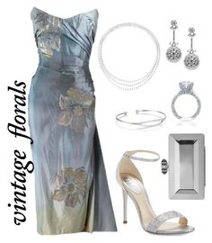 """""""Untitled #96"""" by bluesfanaticxs on Polyvore featuring René Caovilla, Judith Leiber, Tacori and LC COLLECTION"""