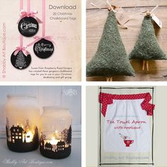 Shabby Art Boutique - 2014 Simply Christmas - Round up 2