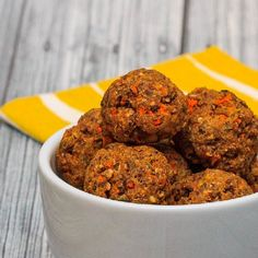 Easy Veggie Balls with Mushrooms and Carrots